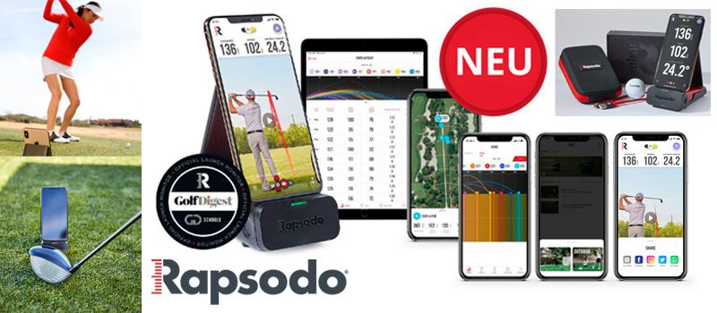 Rapsodo Golf Mobile Launch Monitor (MLM)