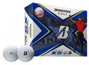 Bridgestone TOUR B XS Tiger Woods Edition Golfball, 12 Stück, weiß