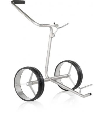 JuCad Junior 2-Rad Trolley, silber