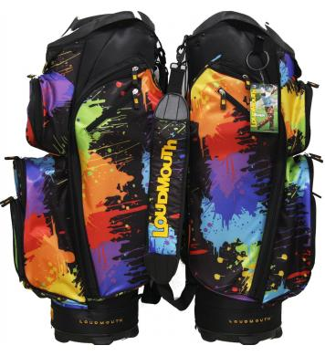 Loudmouth Golf Cartbag 3.0 Paint Balls