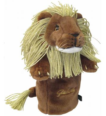 John Daly Lion Headcover, gold
